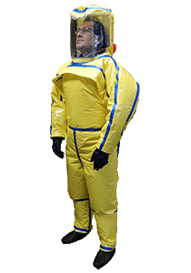 Complete suit disposable material