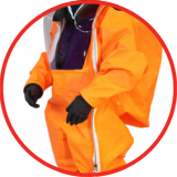Protective clothing Gas tight suits
