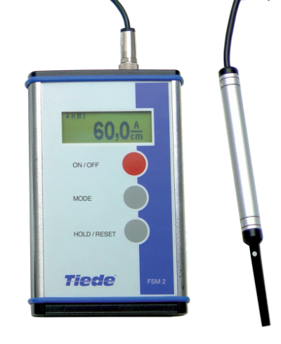 Tiede FSM 2 magnetic field strength instrument | Matcon