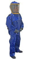 Air supplied complete suit with motor and filters (PAPR)
